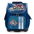 Ранец жесткокаркасный BRAUBERG для начальной школы, мальчик, Райдер, 18 литров, 35*26*15 см