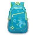 Рюкзак BRAUBERG для средней школы, универсальный, голуб/салатовый., Лазурь, 46*34*18см
