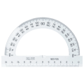 Транспортир 12,5 см, 180 градусов, пластик, KOH-I-NOOR, прозрачный, европодвес, 074623800000