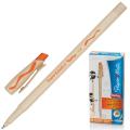 Ручка Пиши-стирай шариковая PAPER MATE Replay, корпус бежевый, 1,2мм, линия 1мм, оранжевая, S0851461