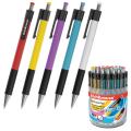 Ручка шариковая автоматическая ERICH KRAUSE МС-5, корпус ассорти, узел 0,7мм, линия 0,35мм, синяя, 31067