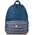 Рюкзак BRAUBERG B-HB1602 для старшеклассниц/студенток, дев., Синий, карман с пуговицей, 40*28*12 cм