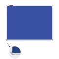 Доска c текстильным покрытием BRAUBERG для объявлений 90*120см, синяя, ГАРАНТИЯ 10 ЛЕТ