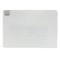 Доска для работы с пластилином ЛУЧ А4, 297х210 мм, белая, с рельефным трафаретом