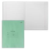 Тетрадь 18 л. зелёная обложка «Архбум», офсет, линия с полями