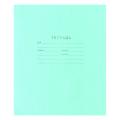 Тетрадь 12 л. зелёная обложка «Маяк», офсет, клетка с полями