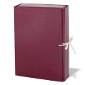 Папка для бумаг архивная, 85 мм, бумвинил, 2 х/б завязки, до 700 листов