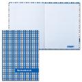 Блокнот Notebook STAFF, А6, 110-147 мм, «Шотландка», твердая ламинированная обложка, 80 л.