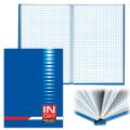 Блокнот BRAUBERG (БРАУБЕРГ) A5, 135-206 мм, 96 л. «INDAY» («Индей»), синий, твердая ламинир. обложка