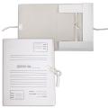 Папка для бумаг с завязками картонная, гарантированная плотность 370 г/м, 32-23-4 см, 4 х/б завязки, до 350 л.