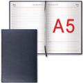 """Ежедневник BRAUBERG недатированный А5 138*213мм """"Favorite"""", под классическую кожу, 160л., черный, 123397"""