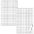 Блокноты для флипчарта BRAUBERG, КОМПЛЕКТ 5шт., 20 л., клетка, 67,5*98 см, 80 г/м, 124097
