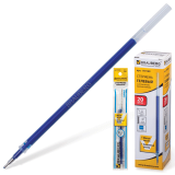 Стержень гелевый BRAUBERG 130мм, игольчатый пишущий узел 0,5мм, линия 0,35мм, синий, 170169