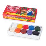 Гуашь ПИФАГОР, 10 цветов, 200 г