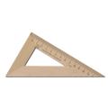 Треугольник деревянный, 30*16 см, УЧД, С139