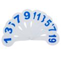 Веер (цифры до 20), Ц-01