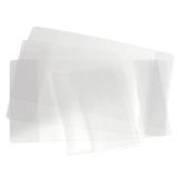 Обложка ПВХ для тетради и дневника, 110 мкм, 212х350 мм, прозрачная, 15.14