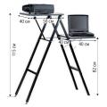 Подставка для проектора и ноутбука PROJECTA «Gigant», 10 кг, (115-90-40 см), 2 полки на разной выс.