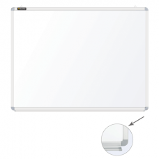 Доска магнитно-маркерная BRAUBERG (БРАУБЕРГ), 90-120 см, улучшенная алюминиевая рамка, ГАРАНТИЯ 10 ЛЕТ