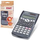 Калькулятор STAFF инженерный STF-810, 10+2 разрядов, двойное питание, 181х85мм, 250280