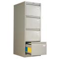 Шкаф картотечный ПРАКТИК «AFC-04», 1330-466-631 мм, 4 ящика, для 200 подвесных папок, без папок