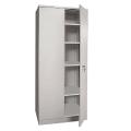 Шкаф металлический офисный НАДЕЖДА «ШМС-4», 1850-756-452 мм, разборный, 2 места