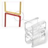 Соединитель для последовательного соединения рамок-POS, прозрачный