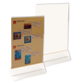 Подставка для рекламных материалов настольная, 2-сторонняя, А5, 148-210 мм