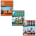 Тетрадь 48л. HATBER VK, кл., мел. карт. обл., Шотландка, 48Т5С1(Т32848)