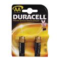 Батарейки DURACELL AA LR6, комплект 2 шт., в блистере, 1.5 В (работают до 10 раз дольше)