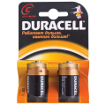 Батарейки DURACELL C LR14, комплект 2 шт., в блистере, 1.5 В (самые мощные щелочные батарейки)