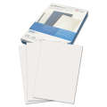 Обложки для переплета GBC(ДжиБиСи), КОМПЛЕКТ 100шт, LeatherGrain (тисн.под кожу), A4,карт,бел,CE040070