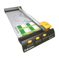 Резак FELLOWES роликовый ELECTRON, A3, длина реза 455 мм, 10 л., метал. основание, LED указка