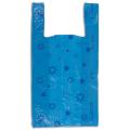 Пакеты «майка», комплект 100 шт., ПНД, 31+18-59 см, «Звезды», 18 мкм