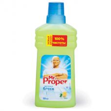 """Средство для мытья пола и стен 500мл MR.PROPER (Мистер Пропер) """"Лимон"""", ш/к 70066"""
