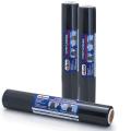 Стрейч-пленка для упаковки поддонов (паллет) СТАНДАРТ, ширина 450 мм, длина 100 м, 0,95 кг, 23 мкм, черная, растяжение 180%