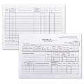 Бланк бухгалтерский, офсет 190 г/м, «Карточка учета материалов», комплект 50 шт., форма М17, А5, 147-208 мм