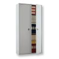 Шкаф металлический для документов ПРАКТИК «SL-185/2», 1800-920-340 мм, 2 отделения, 85 кг, сварной