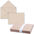 Конверты С4, 1 шт., без клеевого слоя, крафт-бумага, треугольный клапан, 229-324 мм