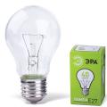 Лампа накаливания ЭРА, 40 Вт, грушевидная, прозрачная, колба d=60 мм, цоколь Е27