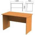 Стол письменный «Фея», 1200-700-750 мм, цвет орех милан, СФ03.5