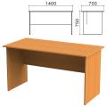 Стол письменный «Фея», 1400-700-750 мм, цвет орех милан, СФ02.5