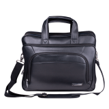 """Сумка деловая BRAUBERG """"Favorite"""", 32х41х12 см, отделение для планшета и ноутбука 15,6"""", кожзам, черная, 240399"""