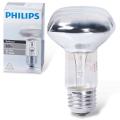 Лампа накаливания PHILIPS Spot R63 E27 30D, 60 Вт, зеркальная, колба d = 63 мм, цоколь E27, угол 30°