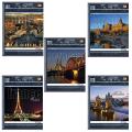 Тетрадь 96 л., «Хатбер» (ВК), клетка, обложка мелованный картон, «Traveler» («Путешествие»)
