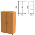 Шкаф закрытый «Фея», 740-390-1220 мм, цвет орех милан (КОМПЛЕКТ)