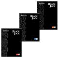 Тетрадь 96 л. А4 BRAUBERG «Pro» (БРАУБЕРГ «Про»), офсет 60 г/м, клетка, выборочный лак, «Black Jack» («Блэк Джэк»), 3 вида