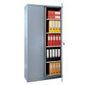 Шкаф металлический офисный ПРАКТИК «M-18», 1830-915-370 мм, 45 кг, разборный