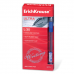 Ручка шариковая масляная ERICH KRAUSE Ultra L-30, корпус прозрачн., 0,7мм, линия 0,35мм, синяя,19613