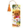 Закладка для книг с линейкой 3D BRAUBERG (БРАУБЕРГ), объемная, рисунок игрушка мягкая, декоративный шнурок-завязка